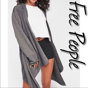Free People Tardy In This Cardi NWT S